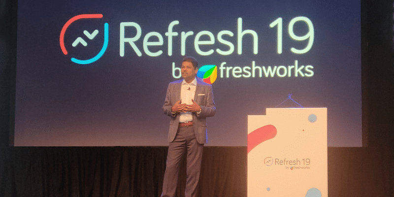 SaaS wizard Girish Mathrubootham of Freshworks announces the startup's move towards AI