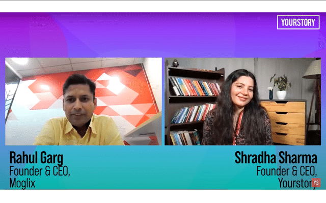 Shardha Sharma, Founder YourStory, in conversation with Rahul Garg, Founder CEO, Moglix