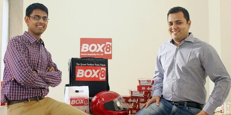 Box8 founders Anshul Gupta and Amit Raj