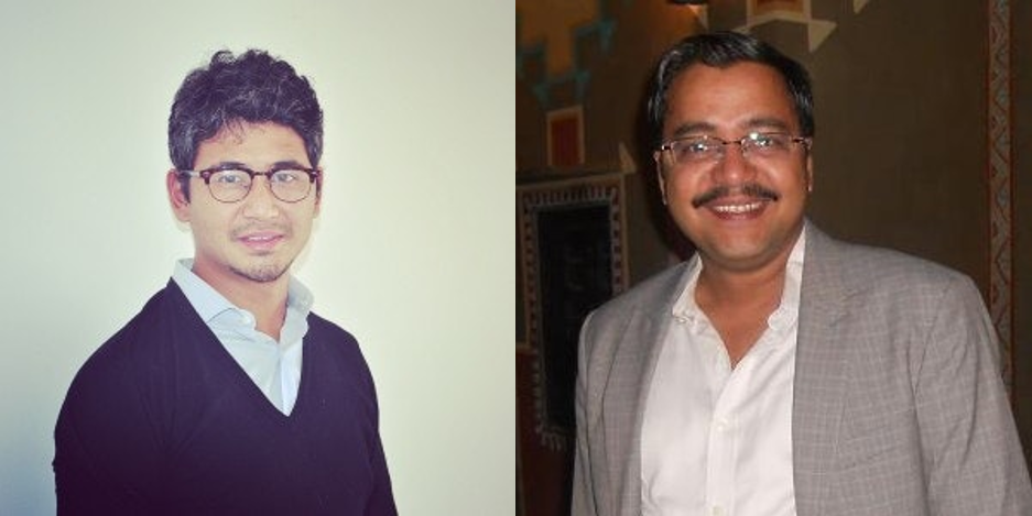 Kunal Moktan and Hasim Khan, founders of Property Share