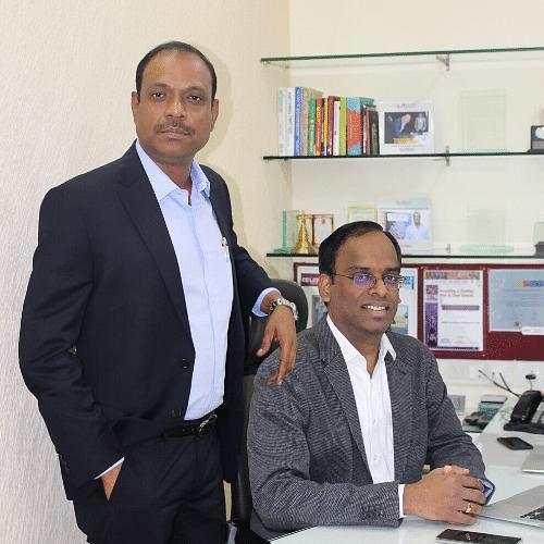 Shishir Gorle and Raja Sekhar Reddy, Co-Founders, Squaremeal Foods