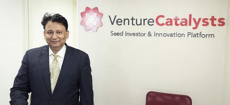 Dr Apoorv Ranjan Sharma, Co-founder and President of Venture Catalysts