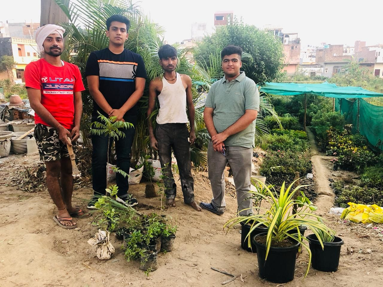 Meet these 17-year-old entrepreneurs in Delhi reaping profits from their gardening startup
