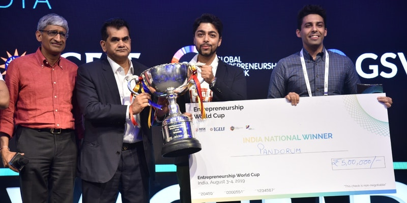 And the Indian Entrepreneurship World Cup goes to Bengaluru-based