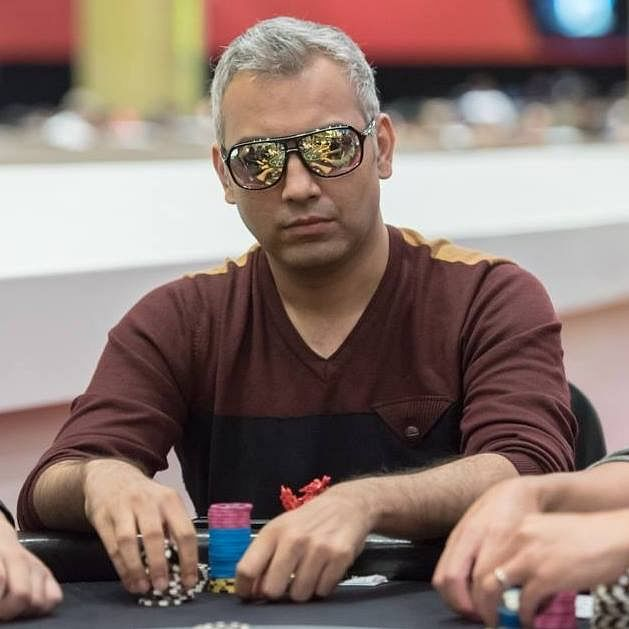 Black guys play poker for blonde, gay golden sower