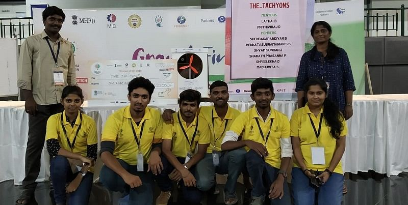 Chennai engineering students take the green route, develop an air cooler that can run without power