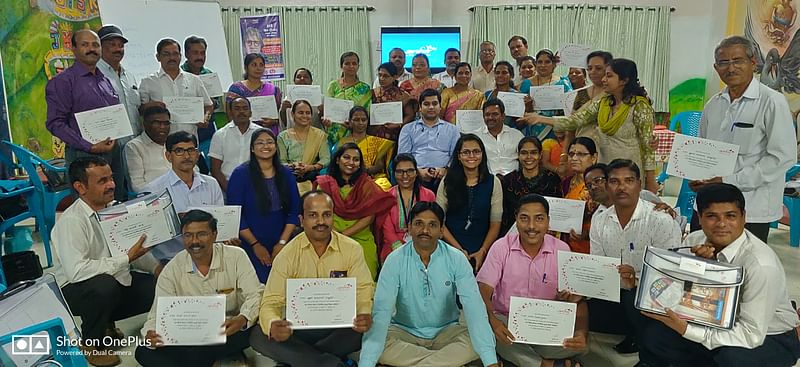 Protection of Children from Sexual Offence (POCSO) training at Kolhapur Zilla Parishad