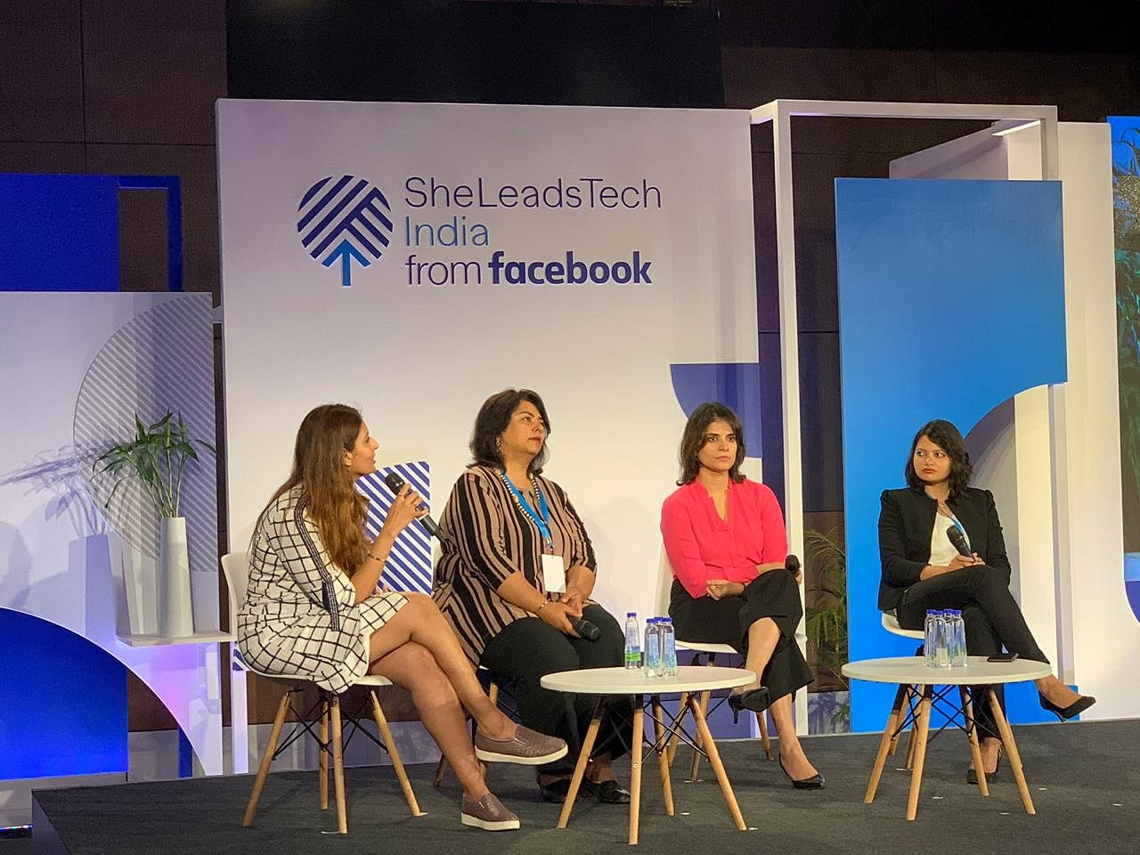 The Facebook SheLeadsTech community celebrated two years at