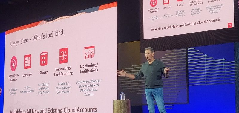 At Oracle OpenWorld, Larry Ellison takes on AWS and reiterates that the future is autonomous