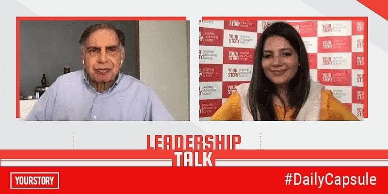 ratan tata leadership talk