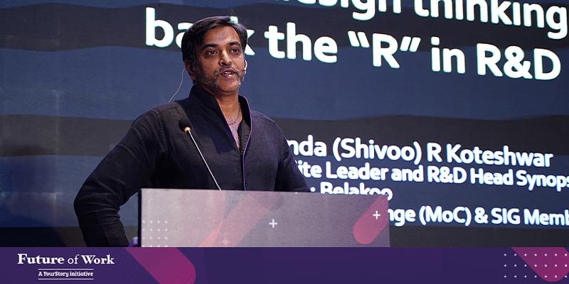 Future of Work 2020: Industry veteran Shivananda Koteshwar explains how design thinking can help bring back 'R' in R&D
