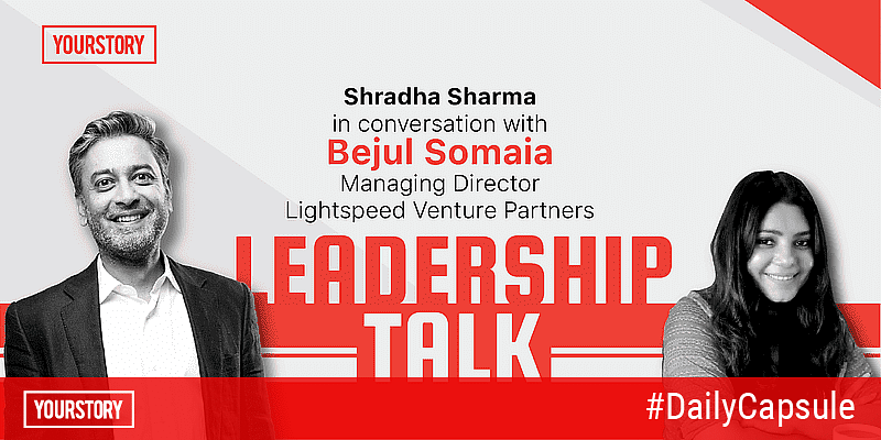 Leadership talk with Bejul Somaia of Lightspeed Venture Partners; Ola Foods' bets on cloud kitchens and contactless delivery