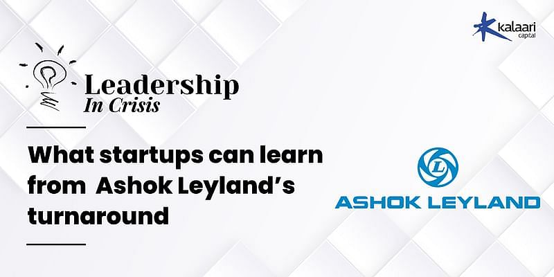 [Watch] Leadership in crisis: What startups can learn from Ashok Leyland's turnaround