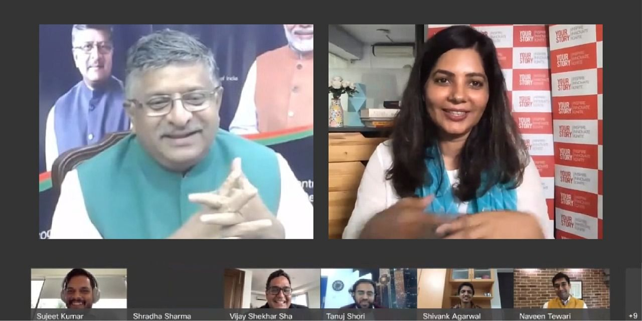 Startups are shaping the new narrative of India's empowerment: Ravi Shankar Prasad in Digital India Townhall with entrepreneurs