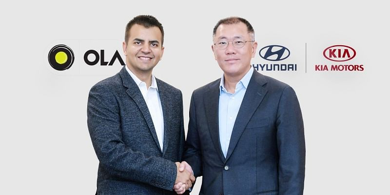 Ola raises $300 M funding led by Hyundai Motor Group and Kia Motors; to focus on EV, infrastructure, and fleet management