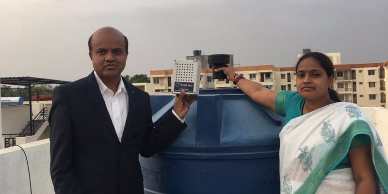 This husband-wife duo's IoT-based startup helps you track and reduce water consumption at home
