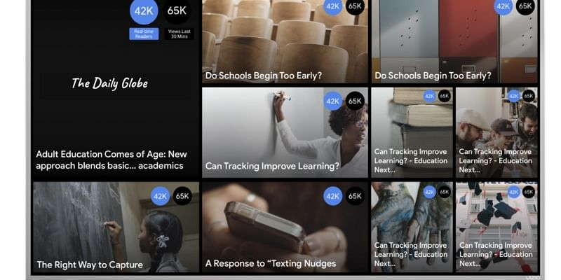 Google has just launched a new real-time data product; and this one's for journalists