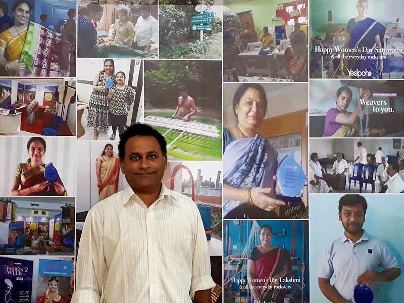 [Startup Bharat] Visakhapatnam-based Yes!poho is bringing weavers and shoppers together, one saree at a time
