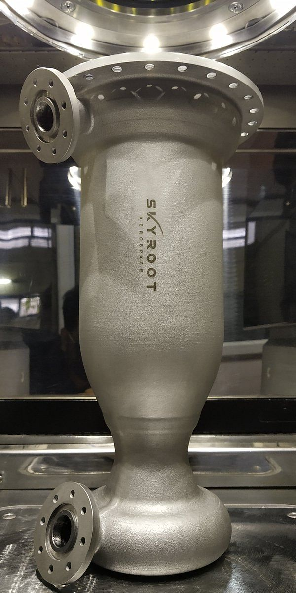 Spacetech startup Skyroot Aerospace develops indigenous cryogenic rocket engine Dhawan-I