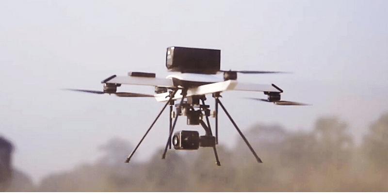 ideaforge drone