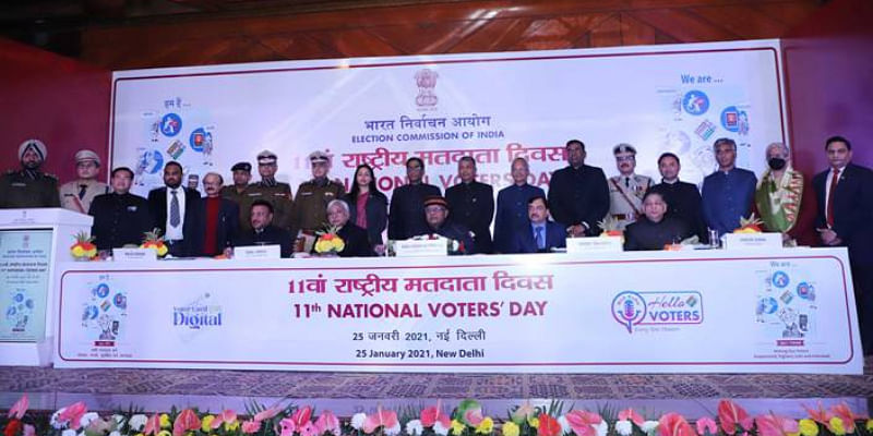ECI launched digital voter identity cards e-EPIC; online digital radio to raise voter awareness