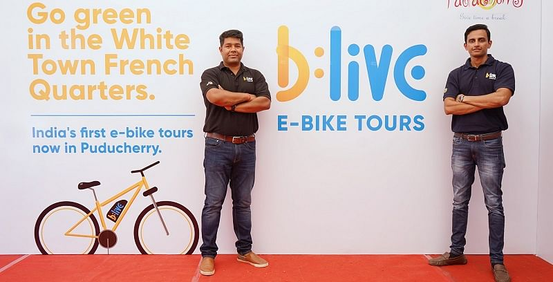 Goa-based startup BLive is wheeling in change with e-cycles and