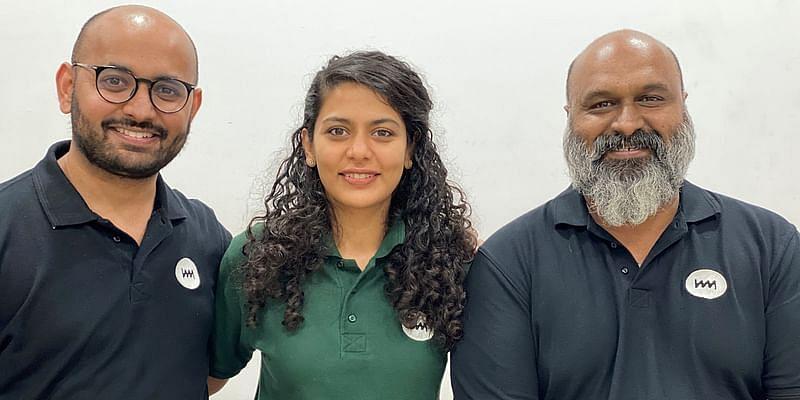 Ohm Mobility Team (L-R): Nikhil Nair, Kaumudi Shrivastava, Avinash Fernandes