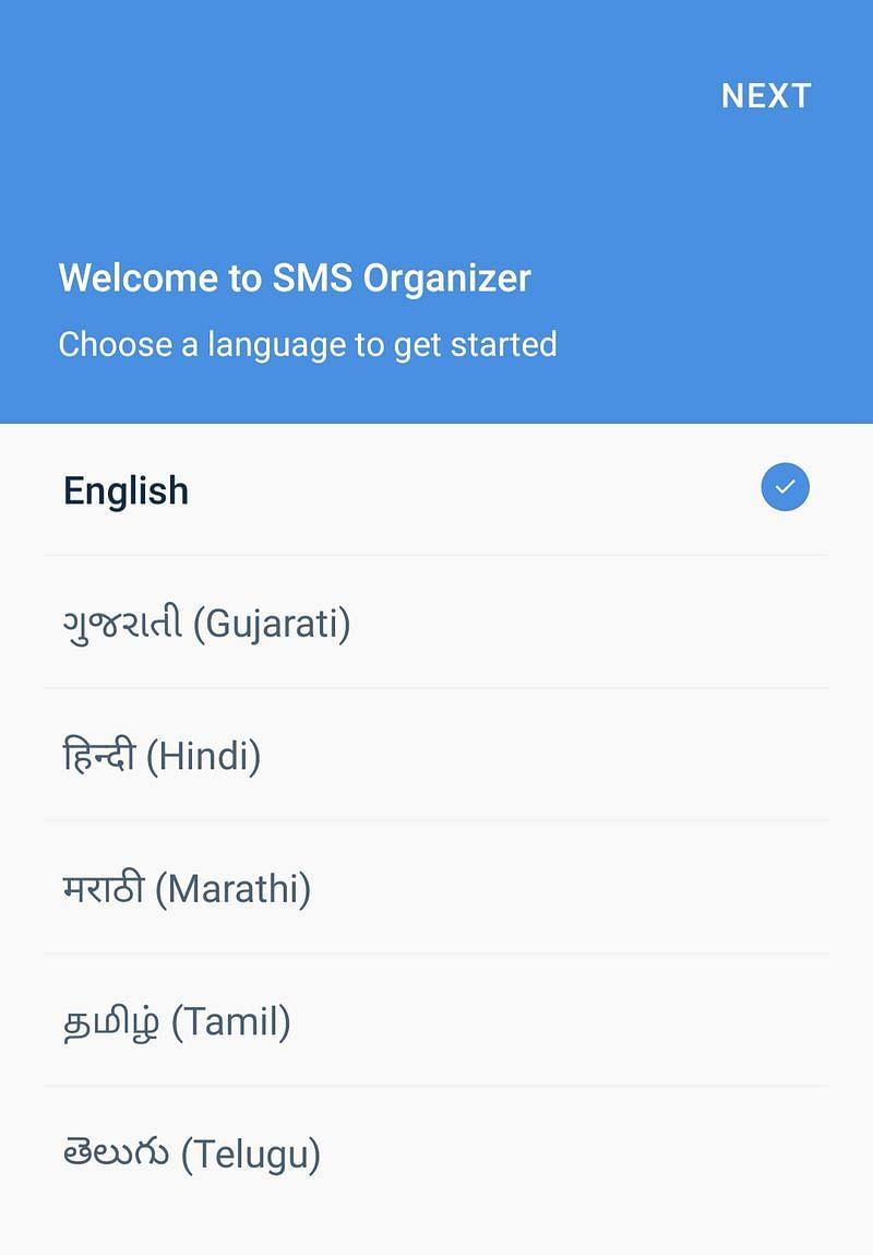 SMS Organizer 9