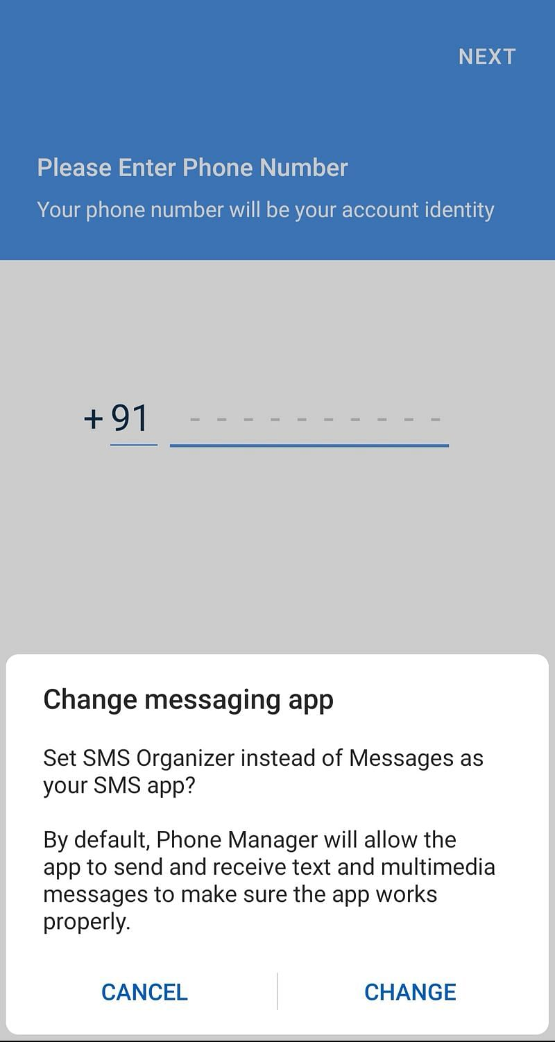 SMS Organizer 10