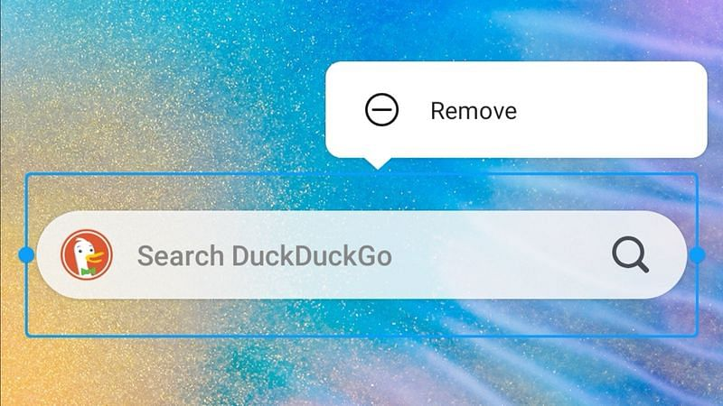 DuckDuckGo app