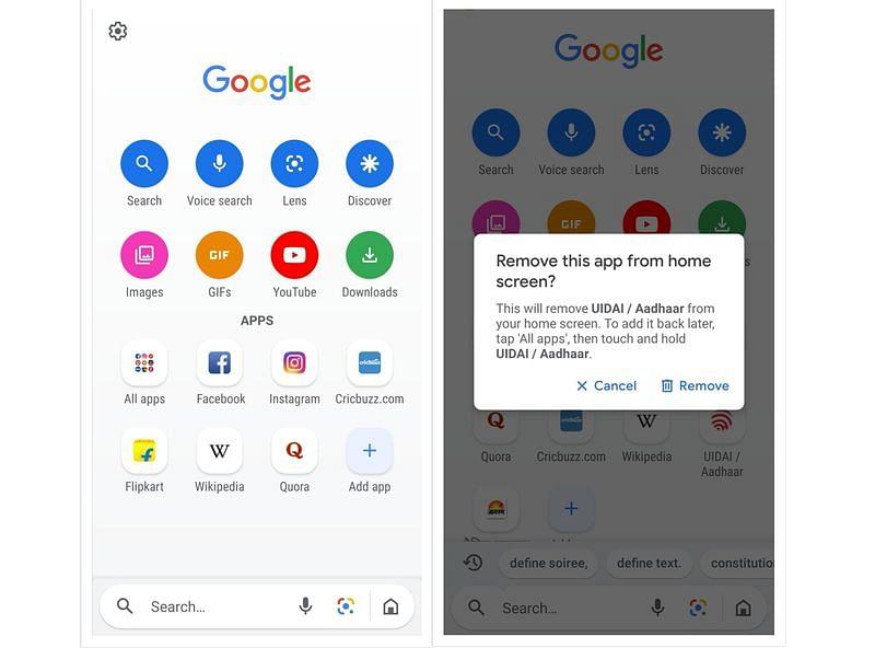 Google Go app