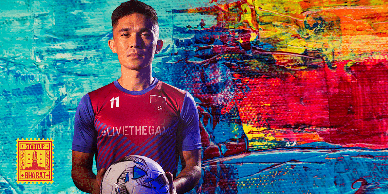[Startup Bharat] Meet Twelfth Man, The First Fantasy Football App In India Promoted By Sunil Chhetri