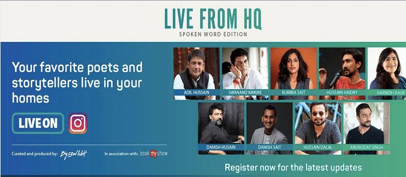 BookMyShow Live