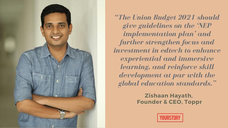 Zishaan Hayath budget