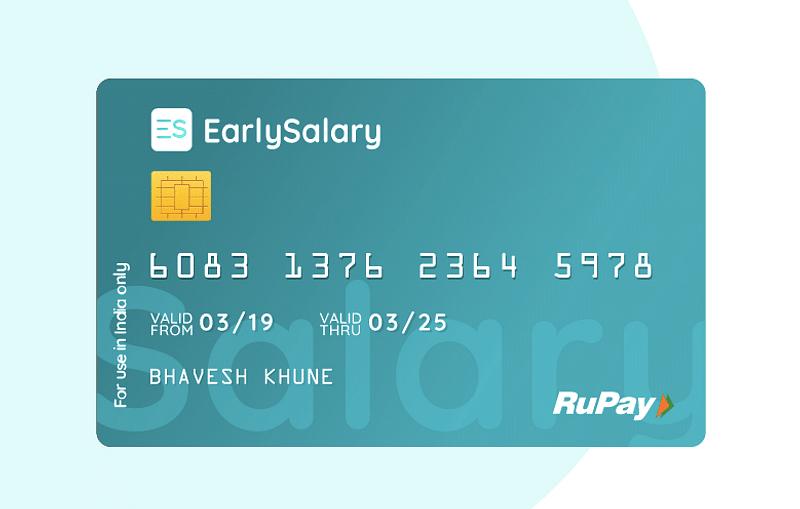 EarlySalary card