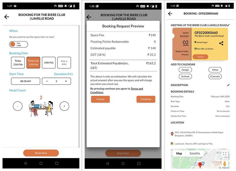 GoFloaters app 3