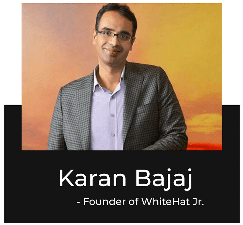 founder and CEO of WhiteHat Jr