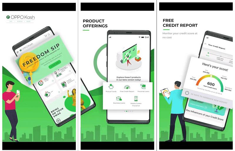OPPO Kash app