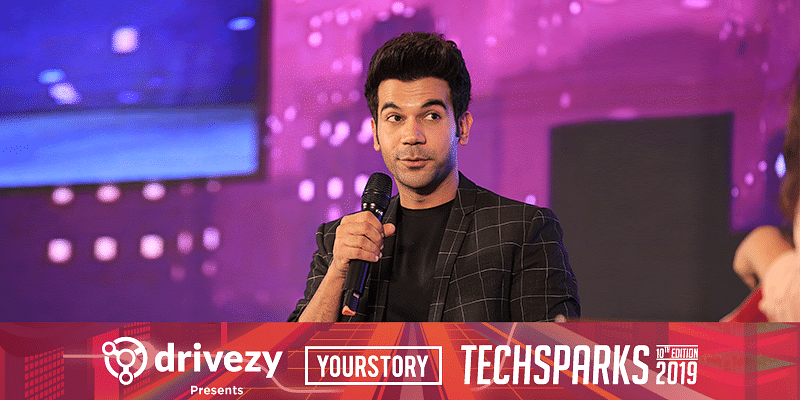 TechSparks 2019: An actor is like a startup founder, we sell talent, they sell idea, says Rajkummar Rao