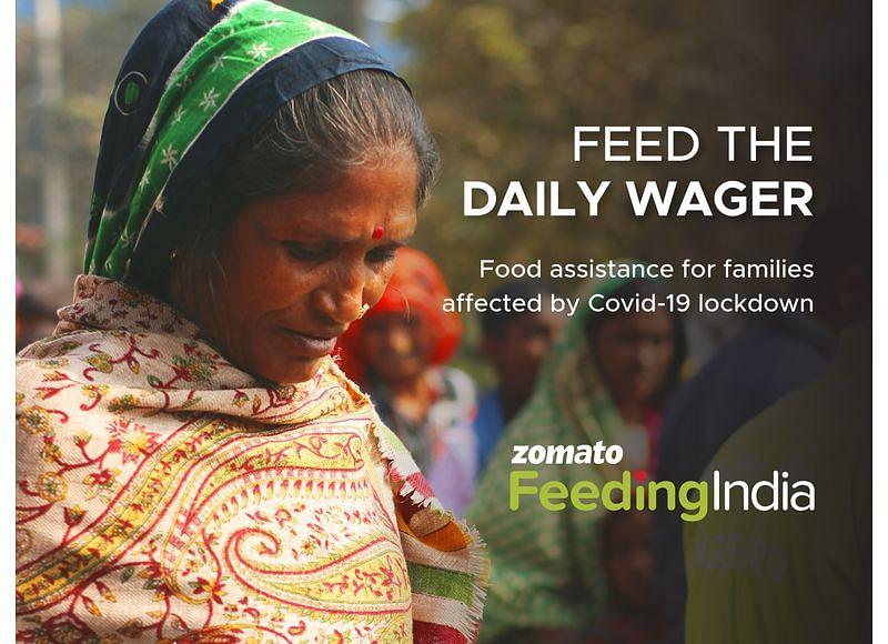 zomato feeding india