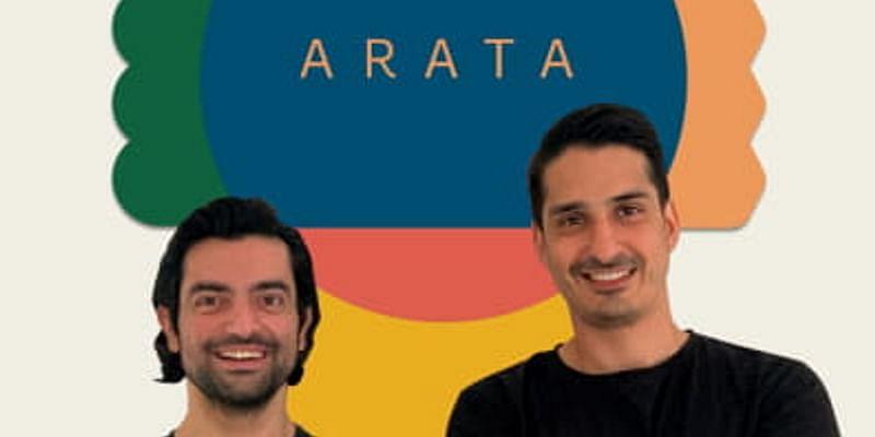 Arata Co-founders (L:R)  Dhruv Madhok, Dhruv Bhasin