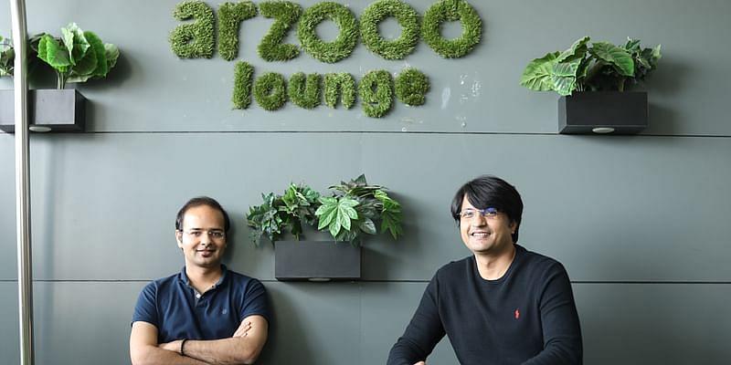 Arzooo Founders(L:R) Rishi Raj and Khushnud Khan