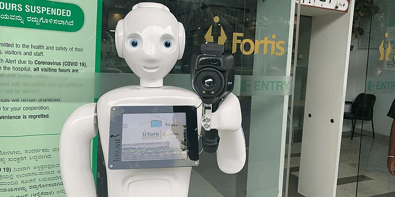 Mitra Robot by Invento Robotics