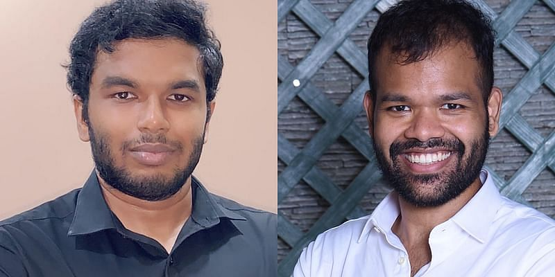 Fieldproxy Co-founders L:R - Balakrishna B(CTO), Swaroop Vijayakumar (CEO)