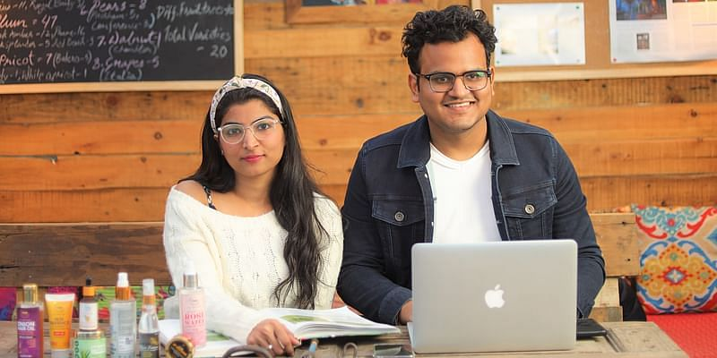 TNW- The Natural Wash Co-founders : Shivangi Goel (CEO) and Akshit Goel (Director)