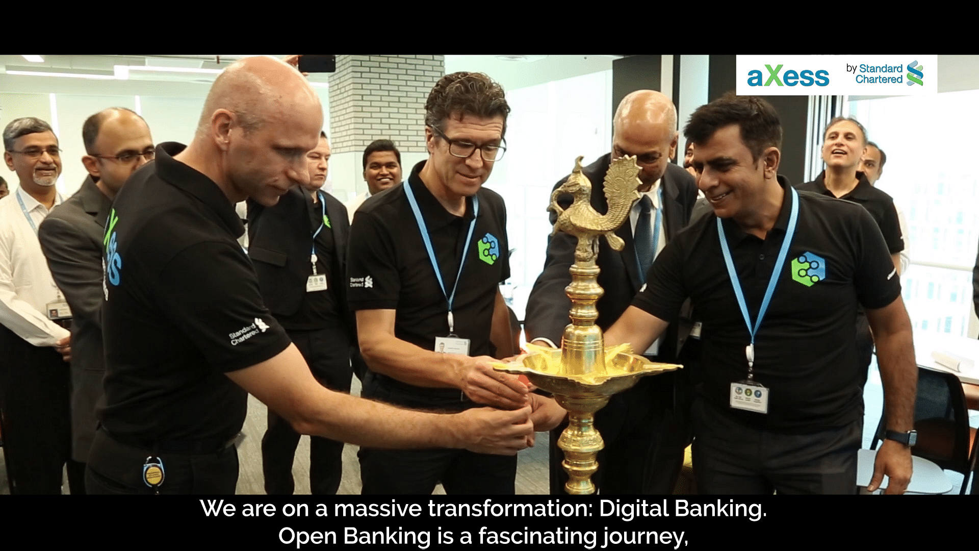 Standard Chartered leaders and developers on Open Banking