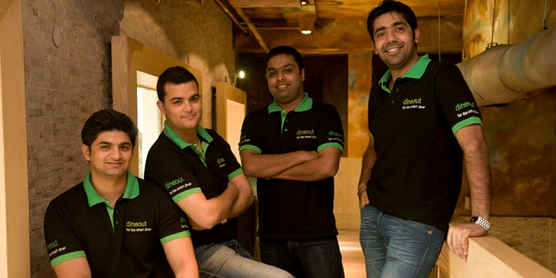 Dineout founding team