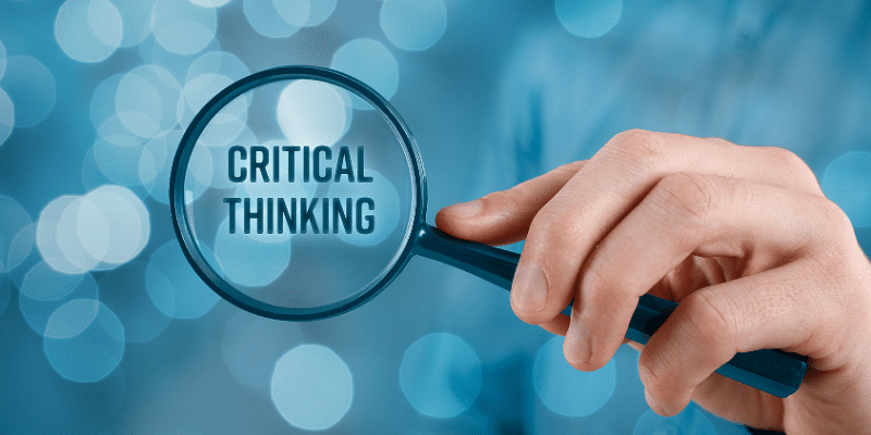 Critical thinking: an important aspect of engineers' career
