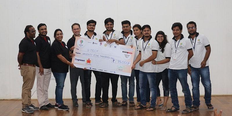Team G-TECH from CV Raman College of Engineering, Bhubaneswar