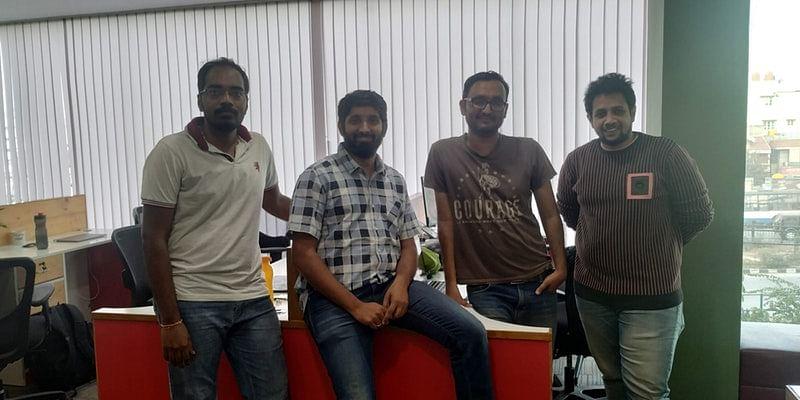 From left: Prasanth, Guruprasad, Sikandar, Chaiintanyaa
